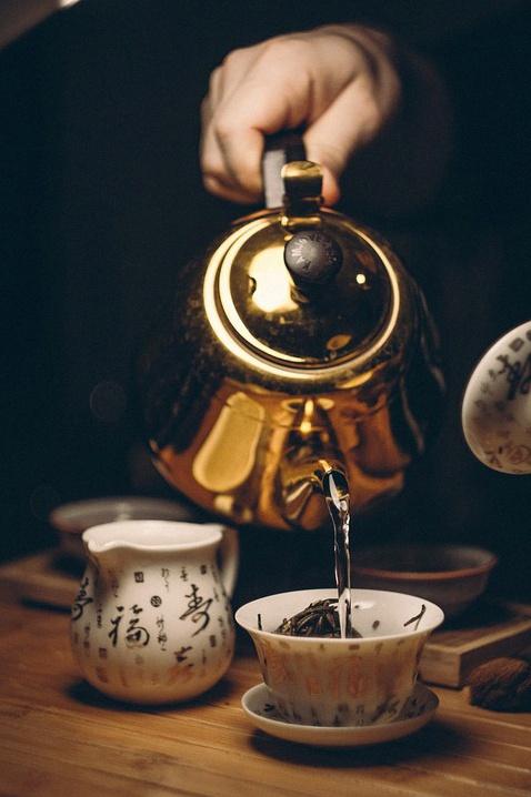 eau pour thé