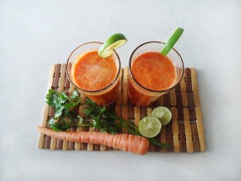 jus carotte bonne mine