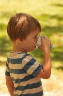 enfant thé